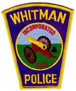 Whitman Police Patch