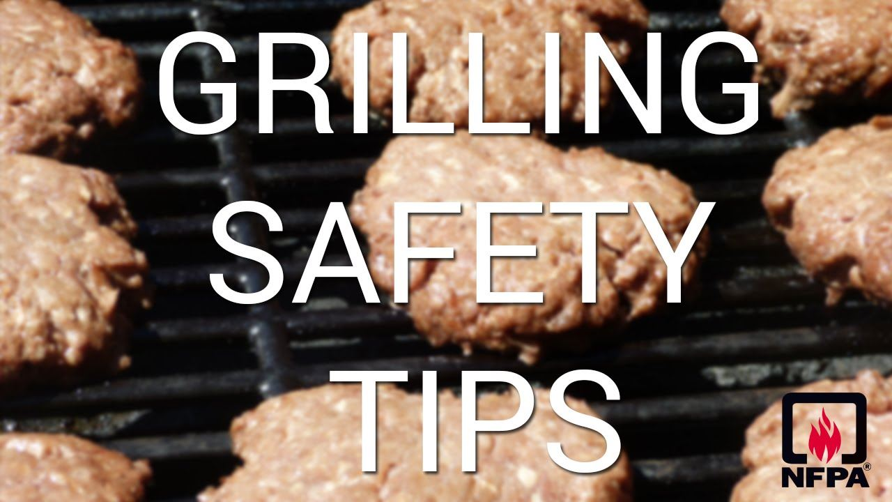 grill safety tips