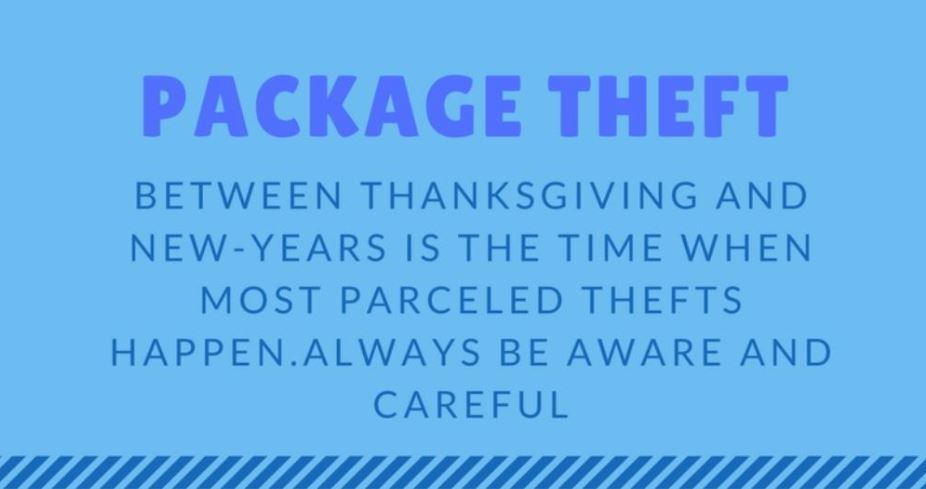 Package Theft Logo